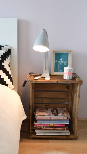 Id es d co du jour ralfred 39 s blog deco diy for Idee table de chevet