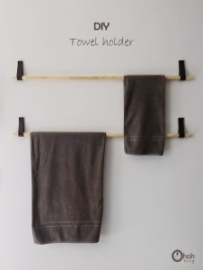 diy towel holder 4