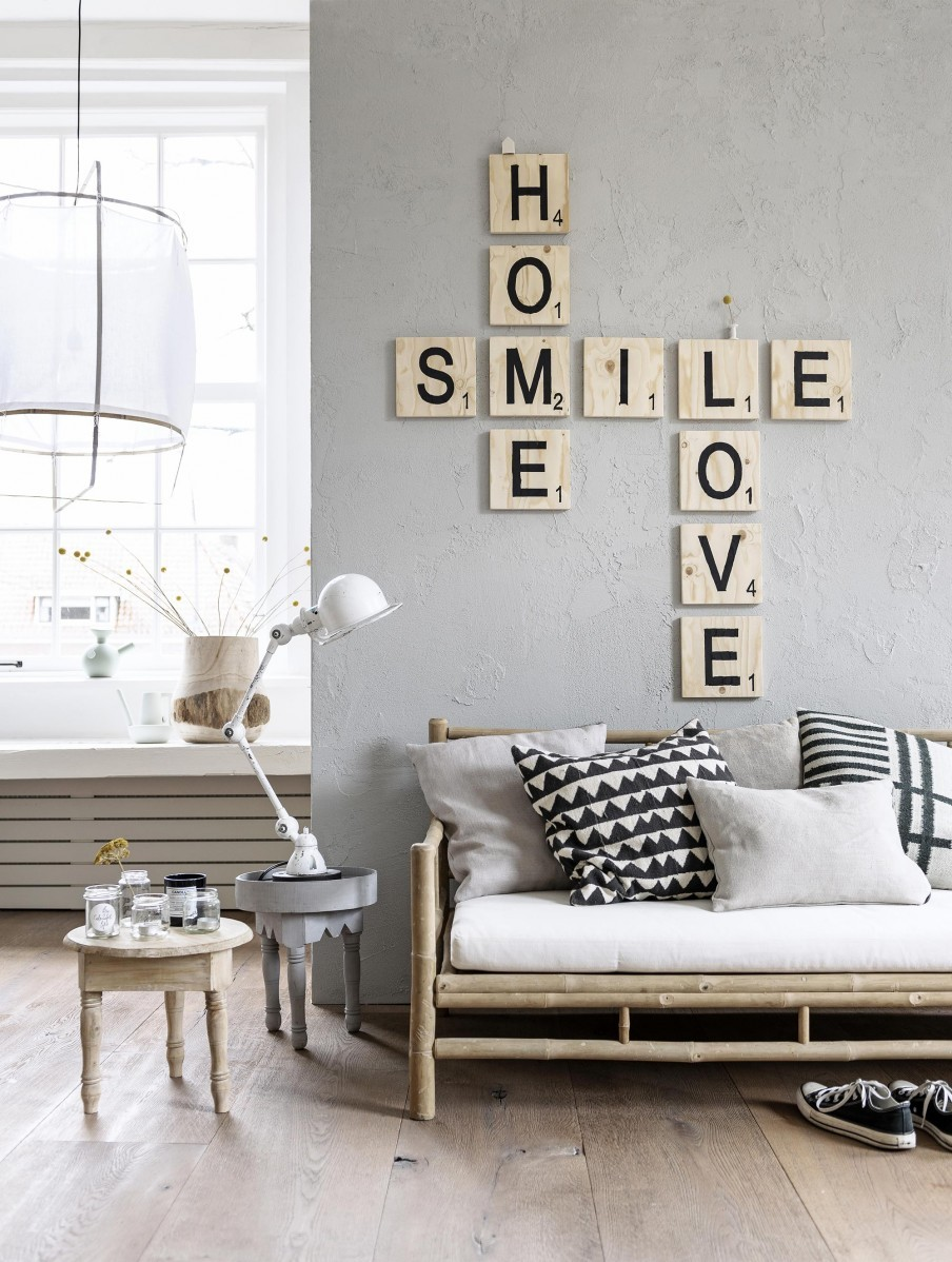 Lettre ralfred 39 s blog deco diy - Wanddeko scrabble ...