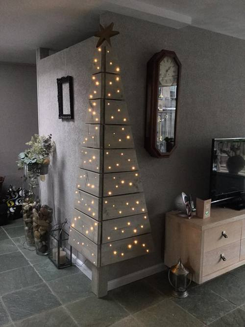 Ralfred ralfred 39 s blog - Sapin de noel a accrocher au mur ...