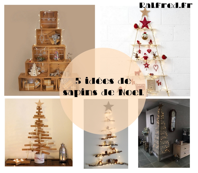 5 id es pour un sapin de no l fabriquer diy ralfred 39 s blog deco diy. Black Bedroom Furniture Sets. Home Design Ideas