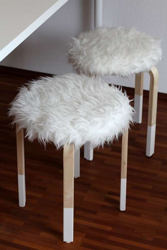 Tabouret Frosta Relooké Style Scandinave Ikeahack Ralfred S Blog